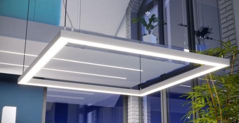 Aluminium profile LUMINES ILEDO 2m non-anodized