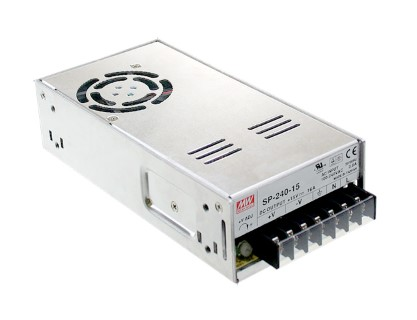LED power supply unit MEAN WELL 24V DC  SP-240-24  240W