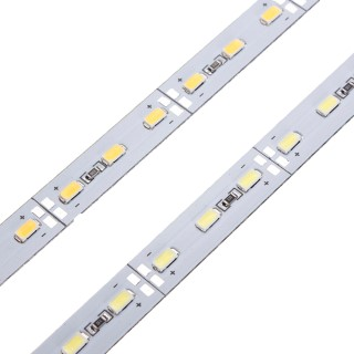 LED strip  5630 72LED 1m ALU 12V  17W  120° warm white 3000K
