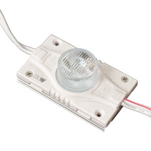 LED module  MLD-3030-3W-LENS 12V white  26lm  160° IP67 cold white 6000K