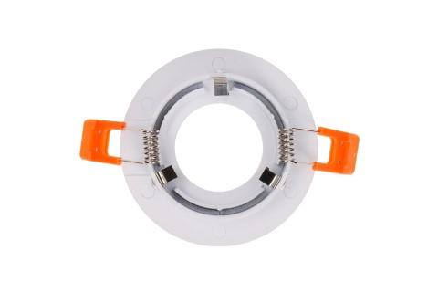 Кольцо для светильника направленного освещения  TS78 белый круглый