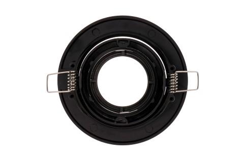 Рамка светильника BCR 1 черный круглый