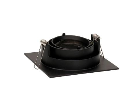 Кольцо для светильника направленного освещения  BCR 2 черный квадрат
