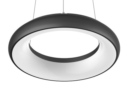 LED luminaire PROLUMEN Circle 24 Pendant DIM black  35W  120° IP40 pure white 4000K