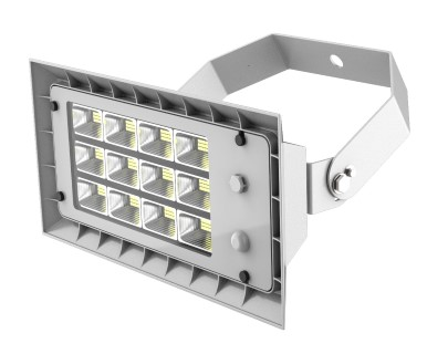 LED floodlight PROLUMEN FL3 white  80W 11200lm  60x90° IP66 pure white 4000K