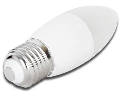 LED Pirn AIGOSTAR C5 C37 küünal  7W 520lm CRI80 E27 260° IP20
