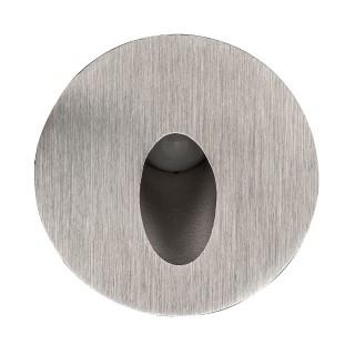 Настенный LED светильник Настенный LED светильник REVAL BULB SL07 серебряный круглый 12-24V 3W IP44 3000K теплый белый