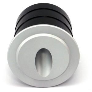 Настенный LED светильник, встроенный Настенный LED светильник, встроенный REVAL BULB SL42 серебряный круглый 230V 3W 250lm CRI80 IP44 3000K теплый белый