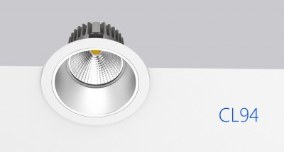 LED downlight PROLUMEN CL94  25W 2450lm  36° IP20 pure white 4000K