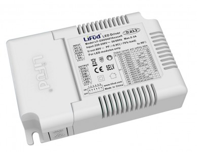 LED-liitäntälaite LED-liitäntälaite LIFUD LF-GSD040YA DALI 230V 40W IP20