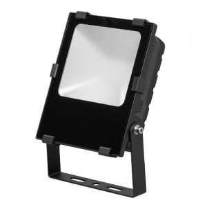 LED floodlight  FL2 black  50W 5500lm  110° IP65 cold white 6000K