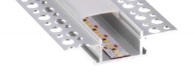 Алюминиевый профиль Алюминиевый профиль LUZ NEGRA Montana 2m серебряный