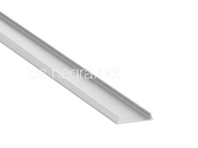 Aluminium profile LUZ NEGRA Harmony 3m silvery