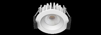 LED Allvalgusti PROLUMEN DL64 valge ring 10W 980lm  60° IP40 päevavalge 4000K