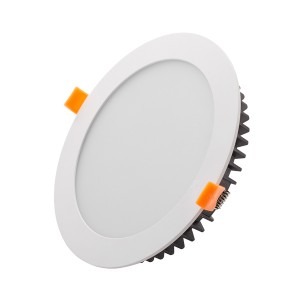 LED downlight PROLUMEN HDLR white round 15W 1280lm  120° IP44 warm white 3000K