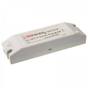 LED блок питания MEAN WELL 24V DC  PLC-45-24  45W  IP20