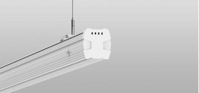 LED luminaire PROLUMEN Hi-Slim DALI DIM  75W 9750lm  80x100° IP20 pure white 4000K