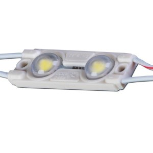 LED module  MW-MLD-2835-2NW-LENS 12V  2W 44lm  160° IP67 pure white 4000K