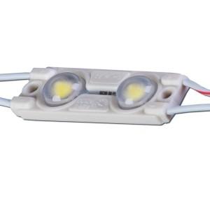 LED модуль  MW-MLD-2835-2NW-LENS 12V  2W 44lm  160° IP67 дневной белый 4000K