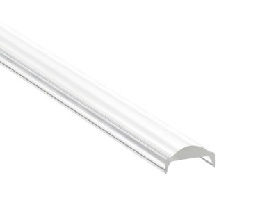Alumiiniumprofiili kate LUZ NEGRA TORINO, 30°, 2m, läbipaistev 97%