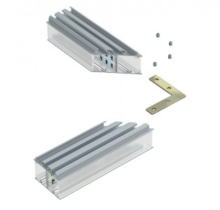 Accessory LUMINES 120° angular connector