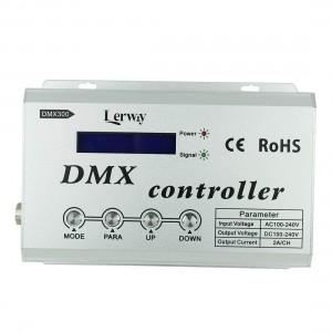 LED strip panel + controller  RGB 230V DMX controller