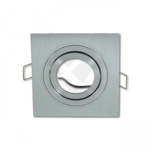 Ring for directional light  4553 silvery square