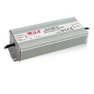 LED muuntaja GLP POWER 24V GLG-200-24  200W  IP67