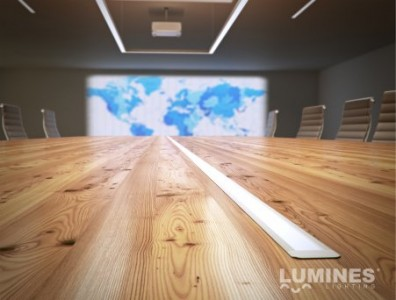Alumiiniumprofiil LUMINES Type G 2m valge