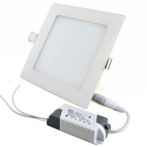 LED panel REVAL BULB LL TRIAC white square 230V 9W 630lm CRI80 140° 3000K warm white