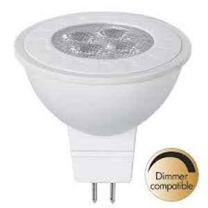 LED лампочка PROLUMEN MR16 ST DIM, 4LED 346-02 12V  5,5W 380lm G5.3 36° IP20 теплый белый 2700K