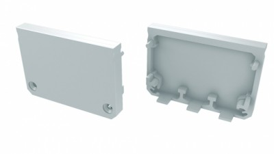 Aluminium profile LUMINES ILEDO endcup without hole white