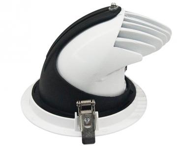 LED syväsäteilyvalaisin PROLUMEN Gimbal COB valkoinen  5W 450lm  30° IP20 lämmin valkoinen 3000K