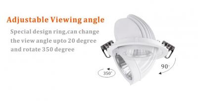 LED локальный светильник PROLUMEN Gimbal COB белый  5W 450lm  30° IP20 теплый белый 3000K
