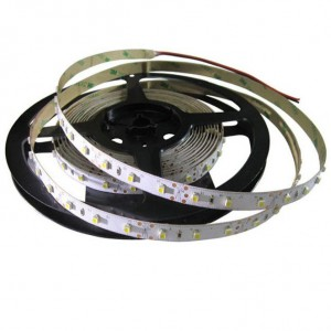LED полоска  NX 3528 60LED 1m 12V  4,8W 420lm  120° IP20 теплый белый 3000K