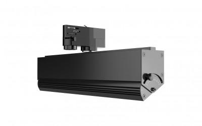 LED kiskovalaisin PROLUMEN Washington 360 musta  60W 7800lm  30x60° IP42 päivänvalkoinen 4000K