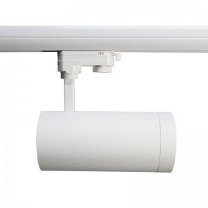 LED track lighting PROLUMEN Leon white  40W 4000lm  30° IP20 warm white 3000K