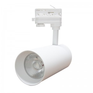 LED track light LED track light PROLUMEN Leon white  40W 4000lm CRI90  30° IP20 3000K warm white