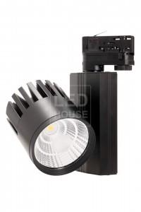 LED светильник на шине PROLUMEN TL черный  40W 3400lm  38° теплый белый 3000K