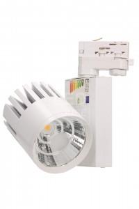 LED светильник на шине PROLUMEN TL белый  40W 3400lm  38° теплый белый 3000K