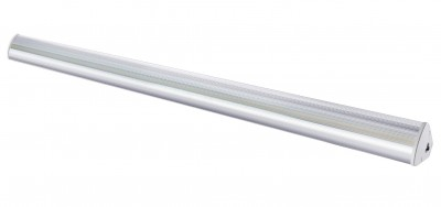 LED ceiling light PROLUMEN Shop LHL 1200 silvery 230V 40W 5200lm CRI80 90° IP42 4000K pure white
