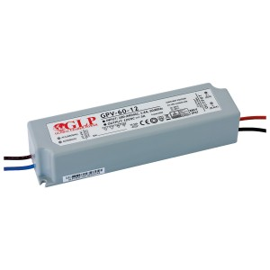 LED блок питания GLP POWER 12V DC GPV-60-12  60W  IP67