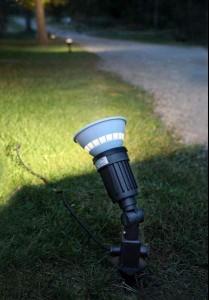 LED Aiavalgusti  418-91 must  E27 IP44
