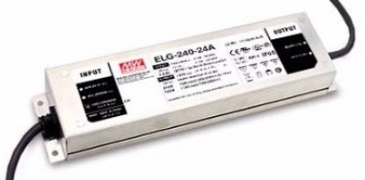 LED Toiteplokk MEAN WELL 24DC ELG-240-24A-3Y  240W  IP65