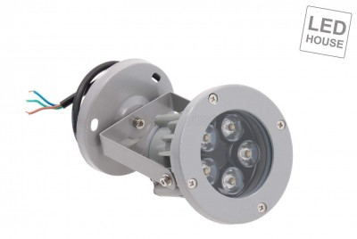 LED garden light LED garden light REVAL BULB FL001 gray  5W 420lm  45° IP65 3000K warm white