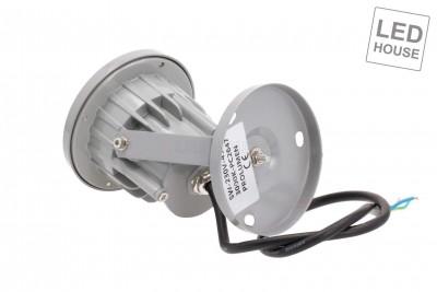 LED garden light REVAL BULB FL001 gray  5W 420lm  45° IP65 3000K warm white