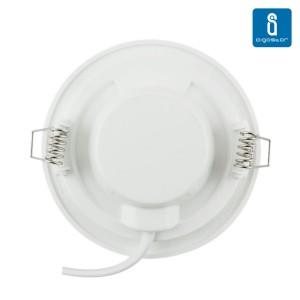 LED paneeli AIGOSTAR E6 valkoinen kierros 6W 320lm CRI80 160° IP20 3000K lämmin valkoinen