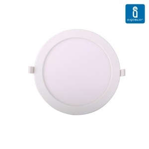 LED panel LED panel AIGOSTAR E6 white round 230V 20W 1370lm CRI80 160° IP20 3000K warm white