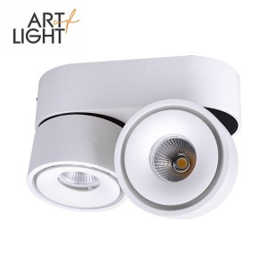 LED downlight  LAHTI MINI 2X8W white  16W 1078lm  60° IP20 warm white 3000K