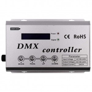 LED Riba pult + juhtplokk LED Riba pult + juhtplokk REVAL BULB RGB 230V DMX controller  1320W